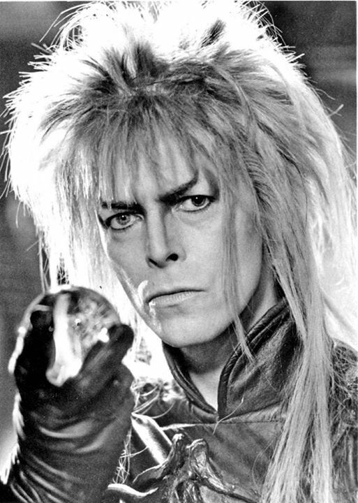 David Bowie as Jareth... Favorite movie of all time !