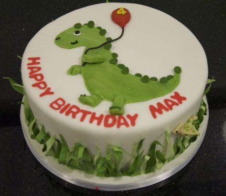 BC4056 - dinosaur cake - a photo