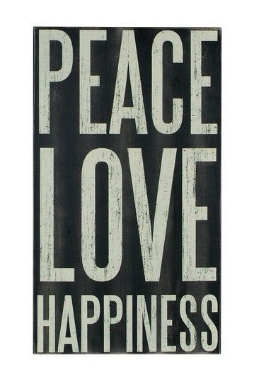 peace love happiness inspirational quotes