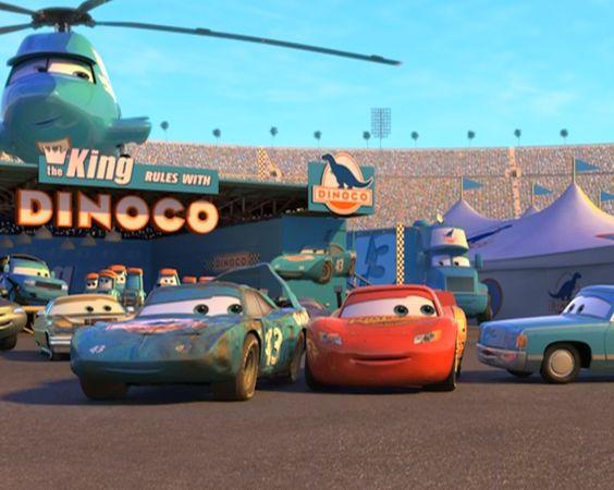 カーズのレース会場で仲間達集結