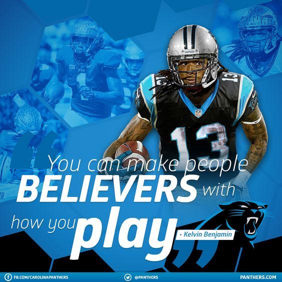 NFL Jersey's Mens Carolina Panthers Kelvin Benjamin Nike Black Game Jersey