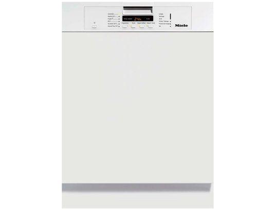 Lave vaisselle integrable 60 cm MIELE G5220SCIBLANC