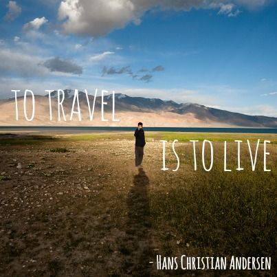 We asked our Facebook fans to share the quotes that inspire and motivate them to keep their travel resolutions. Here's one of our favourites, suggested by Lauren LC.   Get your free travel resolutions ebook here: http://ow.ly/sBDOJ  (Image by Chetan Karkhanis - http://sandeepachetan.com/ )
