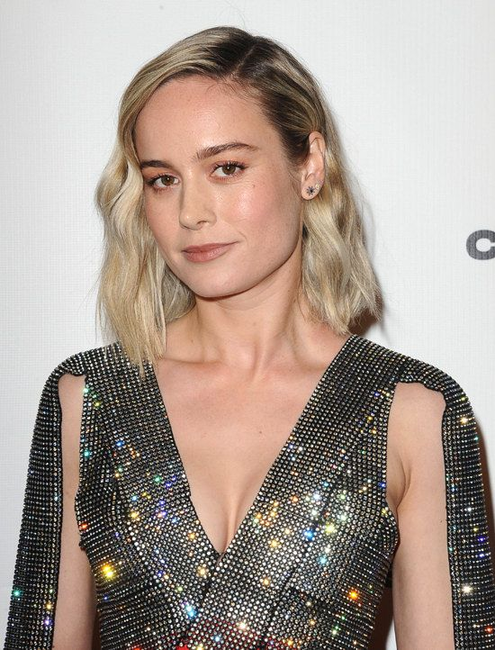 Brie Larson In Christopher Kane At The Los Angeles On Line Film