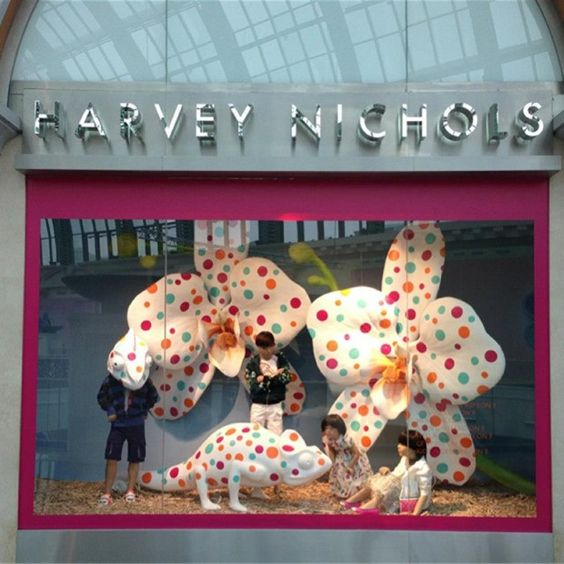 Harvey Nichols Window Display, Dubai