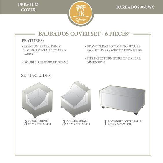 TKC BARBADOS-07b Winter Cover Set, Beige