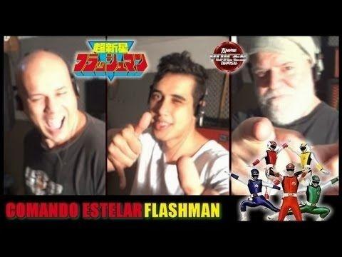 Grupo: Anime Voices Brasil - Comando Estelar Flashman