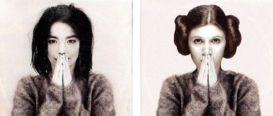 Διάσημα εξώφυλλα δίσκων με Star Wars makeover