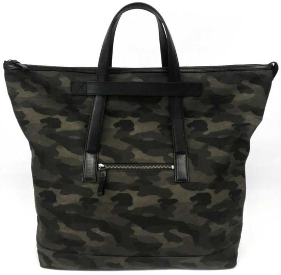 TOTE BAG / PVC COATING COTTON / LEATHER
