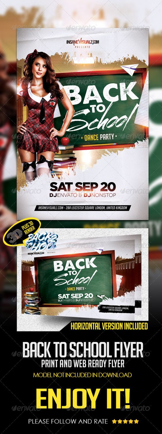 back to school dance party flyer template psd buy and back to school dance party flyer template psd buy and