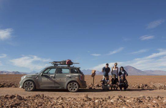 MINI Adventure in Argentina: A MINI Countryman Convoy Chases the Dakar Rally