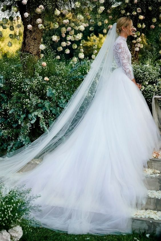 Chiara Ferragni's Wedding Dresses Explained, by the Blonde Salad Herself Photos | W Magazine
