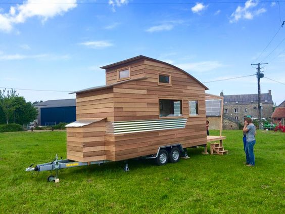 Best A French Tiny House With A Unique Curved Roof Unique 400 x 300