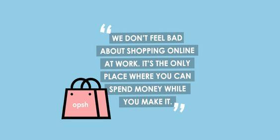 Word Up! #onlineshopping #multitasking