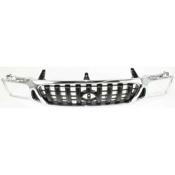 2004 2006 Ford F 150 Front Bumper Grille Center Black In 2021 Ford F150 Ford Ford Pickup
