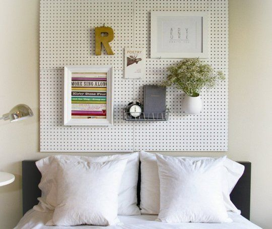 A New Headboard by Bedtime: 12 Unusual & Affordable DIY Headboard Ideas | Apartment Therapy