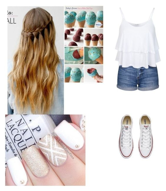 """""""Baking"""" by mysterywritergirl240 on Polyvore featuring Topshop, Miss Selfridge and Converse"""