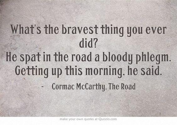 Essays the road