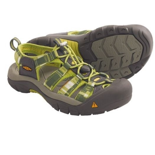 NIB Keen Newport H2 Women's Sport Sandals Bright Chartreuse - Green Shoes 6M