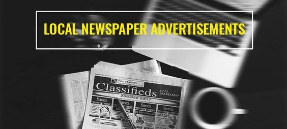 importance of newspaper ad - CTM