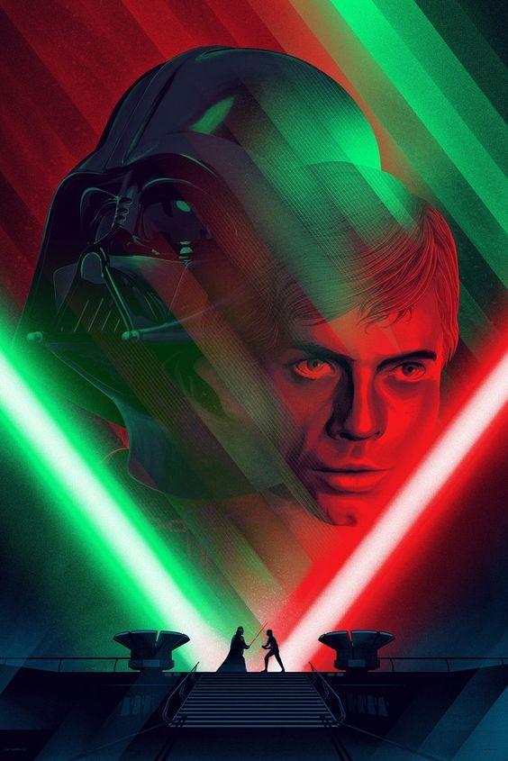 Star Wars Episode Vi The Return Of The Jedi Darth Vader Vs Luke Skywalker Star Wars Prints Star Wars Death Star Star Wars Wallpaper
