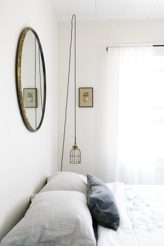 Moderne Schlafzimmer, Schlafzimmer and Spiegel on Pinterest