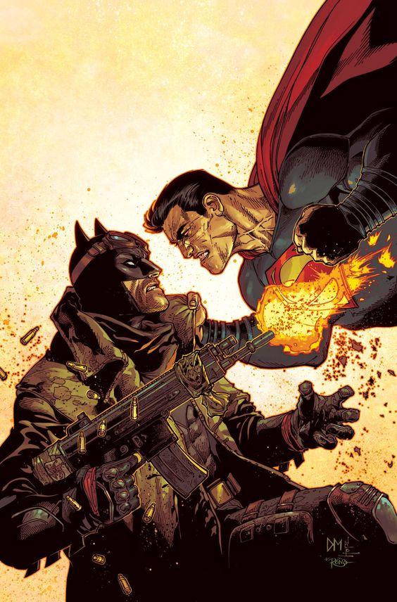 [Cómics] Numerosas portadas alternativas de DC relacionadas con Batman v Superman: El Amanecer de la Justicia - BdS - Blog de Superhéroes