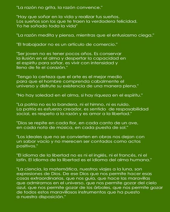 Citas: Luis A. Ferré, Lincoln, Ghandi | Estado51PRUSA.com — PR sin USA, No es PR; USA sin PR, No es USA.