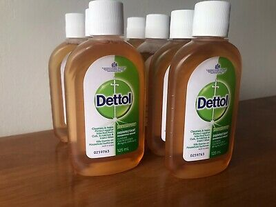 Details About 7 X 125ml Dettol Classic Disinfectant Liquid