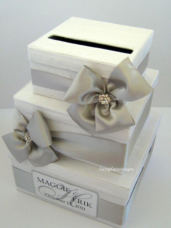 ... Wedding Card Box, Money Card Box, Gift Card Box, Card Holder - Custom