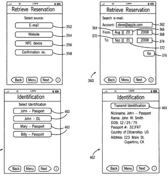Apple wins Passbook-like, NFC-driven 'iTravel' patent