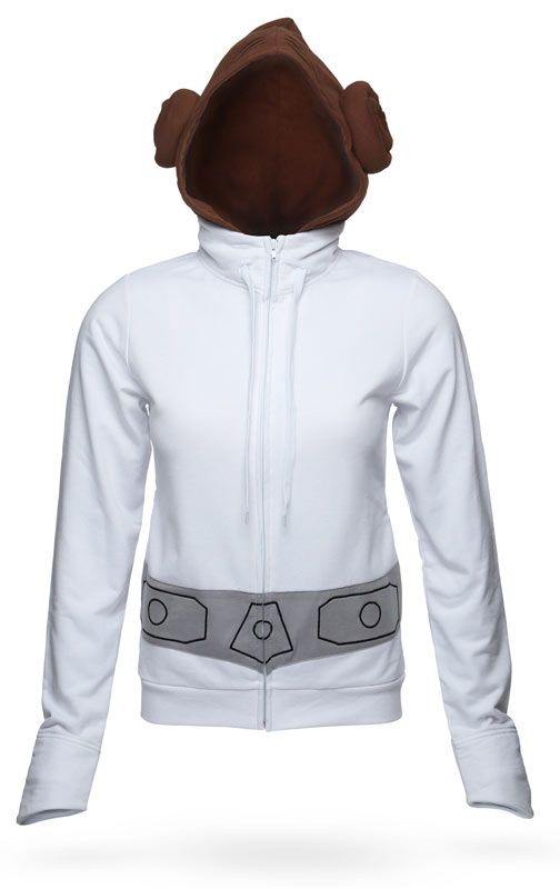 Princess Leia Hoodie - Oh man...so flippin' awesome!