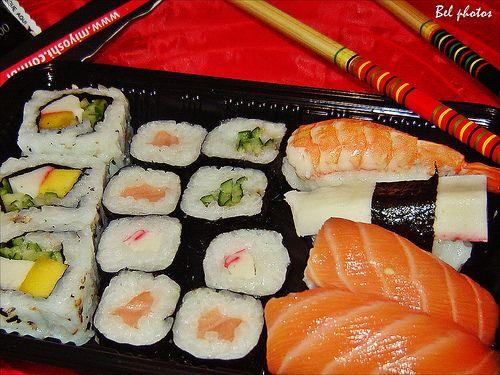 Culinária japonesa...