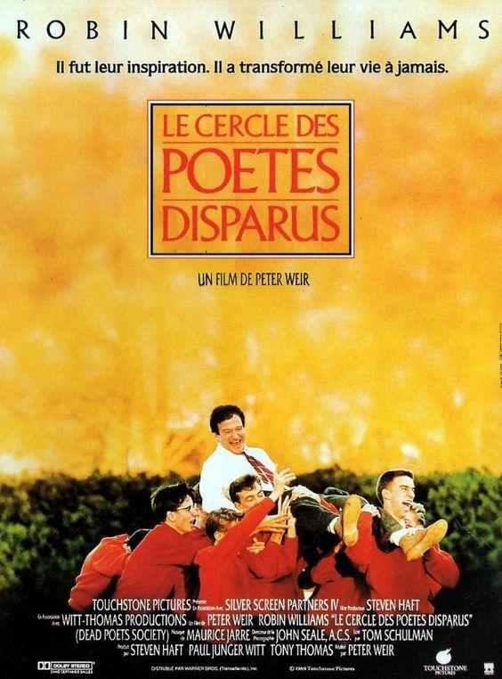 """260. """"Le cercle des poètes disparus""""  de Peter Weir avec Robin Williams, Ethan Hawke..1989"""