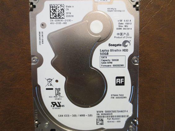 Seagate ST500LT032 1E9142-033 FW:0003SDM1 WU 500gb Sata - Effective Electronics #datarecovery #harddriverepair #computerrepair #harddrives #harddriveparts #seagate #dell