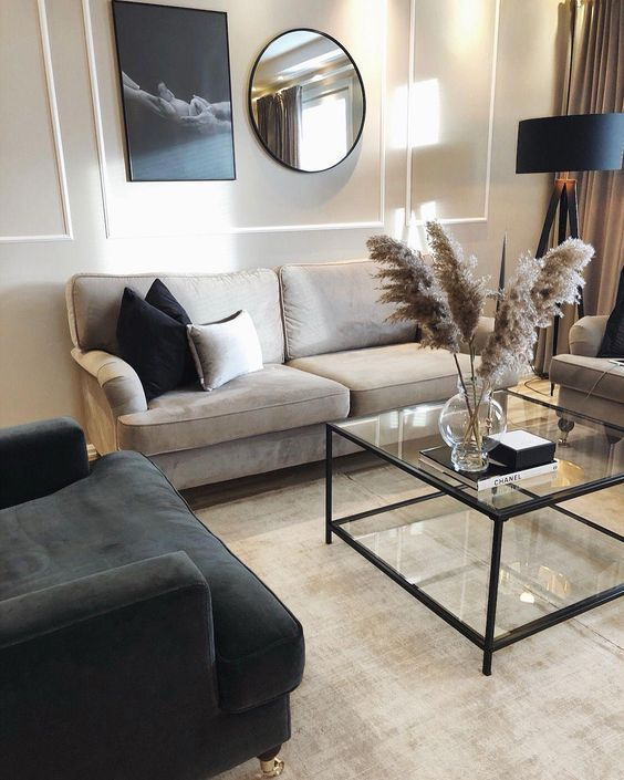40 Best Simple Modern Living Room Interior Decor Ideas For Trendy