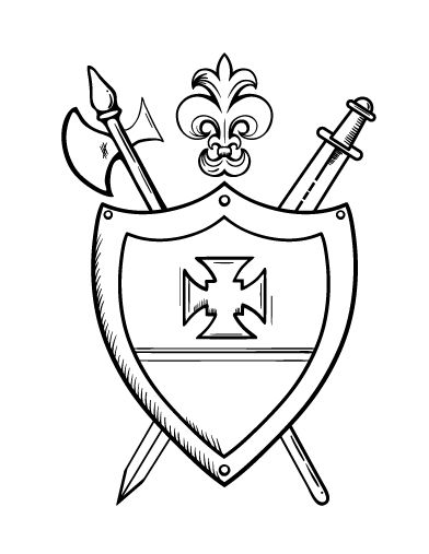 zambia coat of arms coloring pages - photo #6