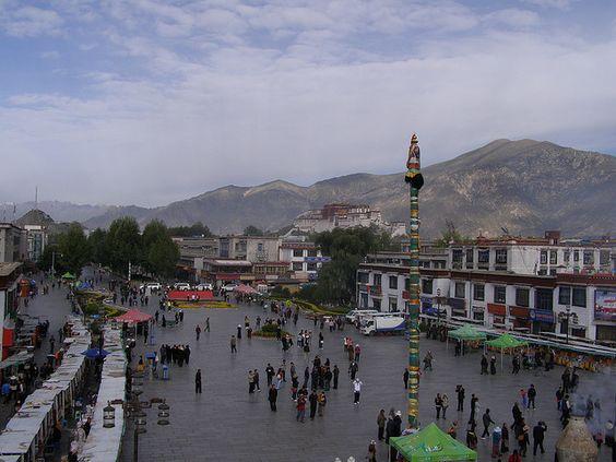 Barkhor Square & Potala Palace