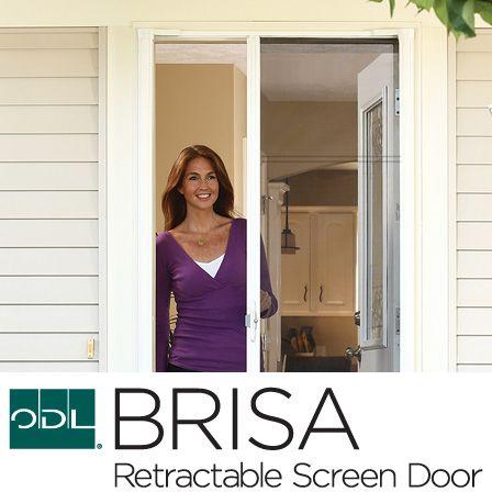 Doors retractable screens and screen doors on pinterest for Brisa retractable screen door