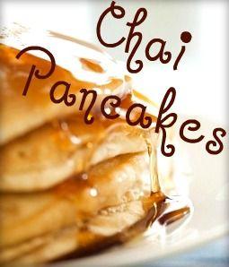 Vanilla #Chai #Pancakes ! Use Krusteaz Buttermilk complete pancake ...