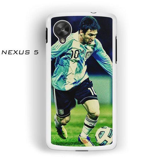 Lionel Messi In Action World Cup AR for Nexus 4/ Nexus 5 phonecase