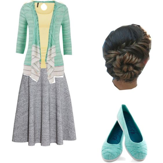 Easter Sunrise by bblackwill on Polyvore featuring H&M