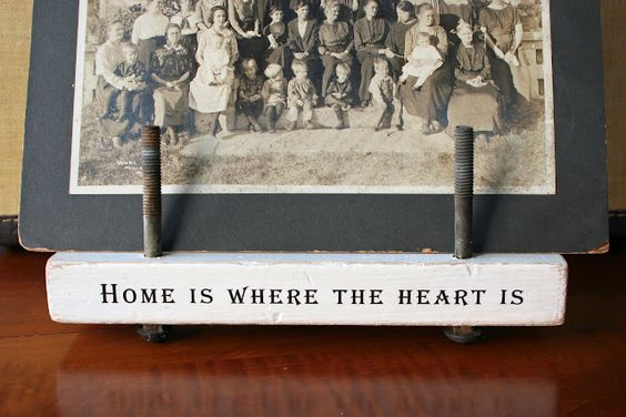 Home is where the heart is.: Diy Ideas, Granny Jane, Janes Wood, Craft Ideas, Antique Photo, Diy Projects, Crafty Ideas, Wood Bolt