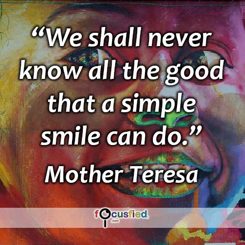 """We shall never know all the good that a simple smile can do."" #quote #inspire #motivate #inspiration #motivation #lifequotes #quotes #smile #dogood #positivity"
