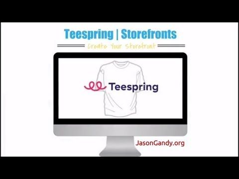 Build Your Teespring Storefront Header Banner About Page