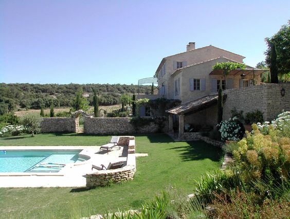 pools pool houses pools and pool houses a nelson architect landscape in provence france. Black Bedroom Furniture Sets. Home Design Ideas