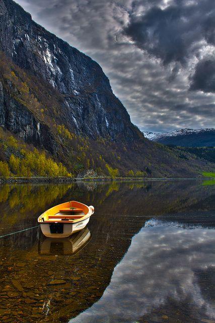 Granvin, Hardangerfjord - Norway.