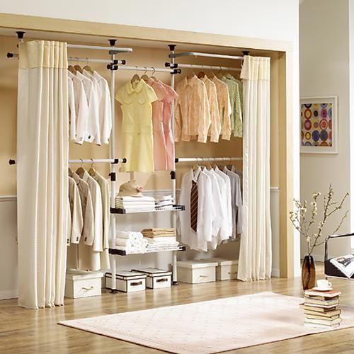 Closet organization summer and sons on pinterest for Organizadores para closet