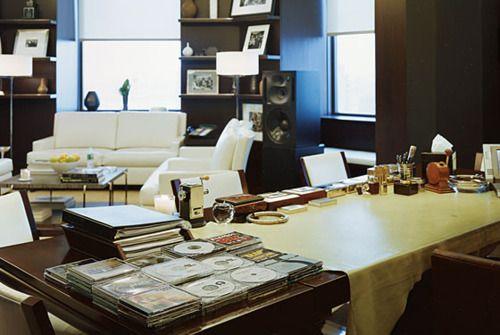 Record Mogul's Office