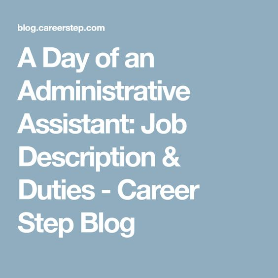 Best 25+ Administrative assistant job description ideas on - how to write a resume ehow